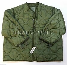 US ARMY MILITARY M65 FIELD JACKET COAT LINER NEW M-65 quilted od XS S M L XL NWT