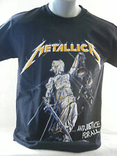 Metallica - ...And Justice For All ...NEW  MENS BLACK  T-Shirt