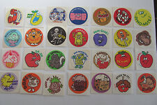 Rare Vintage Scratch and Sniff Stinky Matte Trend Stickers - You Choose