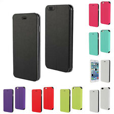 "Ultra Thin PU Leather Stand Flip Folio Case Cover for iPhone 6 4.7""/Plus 5.5"""