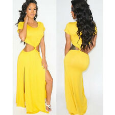Fashion Sexy Women Celeb Maxi Long Evening Cocktail Party Club Bandage Dress