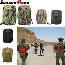Outdoor Tactical Molle EMT Medical First Aid Bag Paramedic Nylon Buckle Pouch