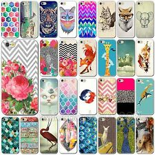 Fashion Funny Cartoon Animals Painting Patterns Case For Apple iPhone 6 6 Plus