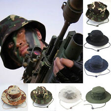 Military Boonie Outdoor Easy Fishing Cap Camouflage Wide Brim Hat Bucket Hat