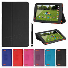 "Premium Smart Folio Stand Leather Case Cover For TESCO HUDL 2 8.3"" Inch Tablet"