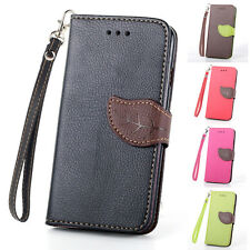 Luxury Magnetic Hybrid Leather Flip Card Wallet Case For Apple iPhone 6/6 Plus