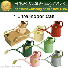 HAWS 1 Litre Metal Indoor Watering Can - BARGAIN PRICES (boxes water marked)