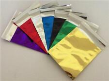 MULTI LISITNG FOIL METALLIC MAILING BAGS | 3 SIZES | 7 COLOURS | MAILING BAGS