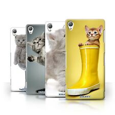 STUFF4 Back Case/Cover/Skin for Sony Xperia Z3/Cute Kittens
