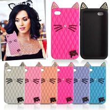 New Fruit Cat Kitty Purry Cover Katy Perry Soft Case For iPhone 4s 5s / 6 6 Plus