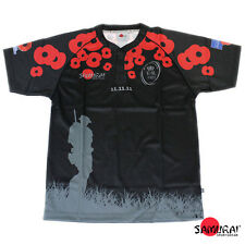 Samurai British Army 'We Will Remember Them' Remembrance Rugby Shirt S-4XL