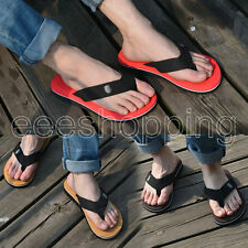 New Fashion Mens Flip Flops Men Sandals Slipper Casual Beach Home Shoes Flats