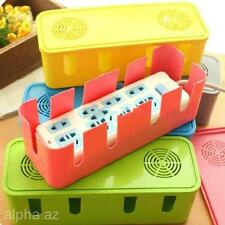 Colors Home Safety Socket Outlet Board Container Box Organizer Storage Box Case