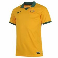NEW $90 100% AUTHENTIC MENS SOCCER FOOTBALL NIKE 2014-15 AUSTRALIA HOME JERSEY