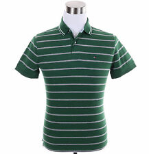 Tommy Hilfiger Men Short Sleeve Custom Fit Stripe Polo Shirt - Free $0 Ship