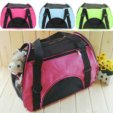 Canvas Carry Pet Dog House Cat Home Soft Breathable Mesh Travel Carrier Bag