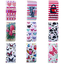 For Samsung Galaxy S Duos GT-S7562 Flip PU Leather Credit Card Wallet Case Cover