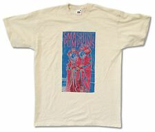"SMASHING PUMPKINS ""DIAMOND EYES TOUR 2011"" IVORY T-SHIRT NEW OFFICIAL ADULT"