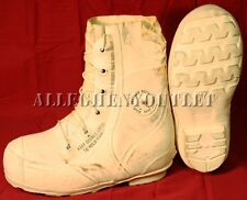 USGI White MICKEY MOUSE BUNNY BOOTS -30° Snowmobile Military NEW / Blem'd
