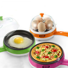 Multifunction Mini Automatic Electric Egg Boiler Cooker Food Steamer Pan-fried