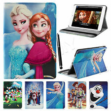 Frozen Elsa Anna Smart Folio Leather Case Cover Stand For APPLE iPad 2 3 4 Mini