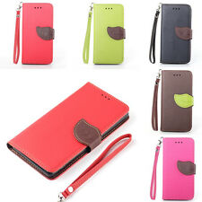 Cute Magnetic Flip PU Leather Wallet Case Cover For Samsung Galaxy Core 2 G355H