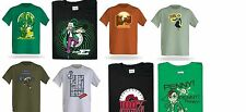 SCIENCE NERD 8 T SHIRT LOT Sz M L TESLA WIZARD OZ EINSTEIN CURIE BIG BANG THEORY