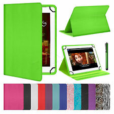 "NUOVO universale Folio Pelle Custodia Cover Per Android Tablet PC 7 "" 8"" 9 "" 9.7"" 10 """