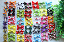 Wholesale Pet Hair Clips Cute Bowknot Clips Dog Hair Bows Pet Grooming Products