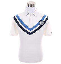 Tommy Hilfiger Men Short Sleeve Logo Cassic Fit Rugby Polo Shirt - Free $0 Ship