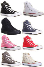 Converse Original Classic Chuck Taylor All Star High Top Plimsole Trainers