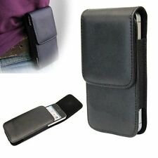 Vertical Leather Horizontal Flip Belt Clip Case Cover Holster For iPhone 5 5S BL