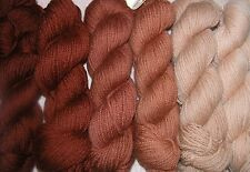 Fawn Brown Family~ New Paternayan Wool 3ply Persian Yarn Needlepoint Crewel