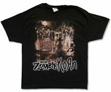 ROB ZOMBIE / KORN - NIGHT OF THE LIVING DREADS BLACK T-SHIRT NEW OFFICIAL ADULT