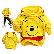 Cotton kids boys girls outerwear baby boys Long Sleeve cotton hoodie bear