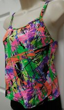 NWT Paint Splatter Print Camisole Top child/ladies szs Dance Costume Jazz hiphop