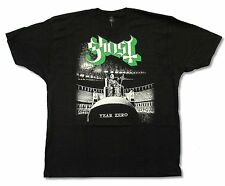 "GHOST ""HAZE OVER N.A. TOUR 2013"" BLACK T-SHIRT NEW OFFICIAL ADULT METAL BAND BC"
