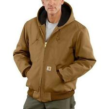 NEW  Sm~ to ~5XL ~Carhartt~ Men's J140 Duck Active Jacket Quilted-Flannel Lined