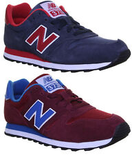 New Balance M373 Unisex Suede Leather Trainers Size UK 6.5 - 11 on Sale
