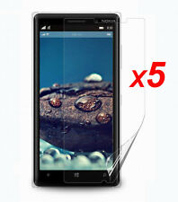 5x Anti-Glare Matte/ HD Clear Screen Protector Guard Film for Nokia Lumia 830