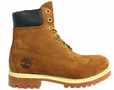 Timberland AF 6 Inch Premium  Mens Boys Leather Lace Up Rust Casual (72066 D1)
