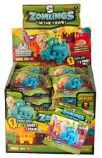 ZOMLINGS IN THE TOWN SERIES 3 GREEN - GHOST TRAIN PACKS (1 ZOMLING + 1 TRAIN)