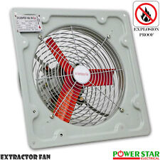 "Commercial Ventilation Extractor Metal Axial Exhaust  Air Blower Fan 12''16""&18"""