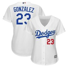 2015 Adrian Gonzalez Los Angeles Dodgers Home (White) Cool Base Jersey Women's
