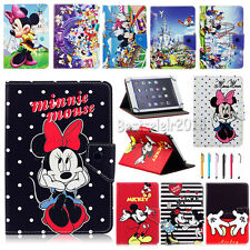 "Universal Cartoon Mickey Minnie Leather Case Cover For 9""~10.1"" Inch Tablet PC"