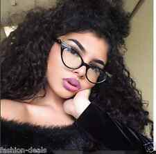 """Sexy Cat Eye Gradient """"Ombre"""" Two Tone Women Eyeglasses Clear Lens Spectacles"""