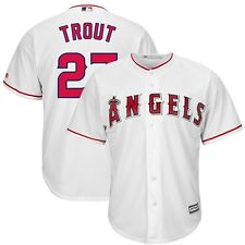 2015 Mike Trout Los Angeles Anaheim Angels Home (White) Cool Base Jersey Men's