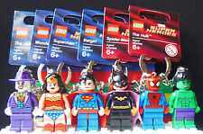 Brand New Lego Keyrings - Star Wars/Superheroes/Turtles - Take Your Pick!!