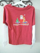 NWT-Elf on the Shelf Long Sleeve Infant/Toddler T-Shirt-Sz 12 or 18 M-2T/3T/5T