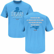 "Dean Smith North Carolina ""The DEAN of Basketball""  You will be Missed T-Shirt"